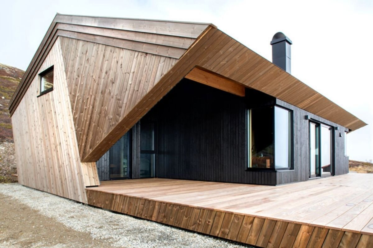 casa de madeira clima extremo foto 4