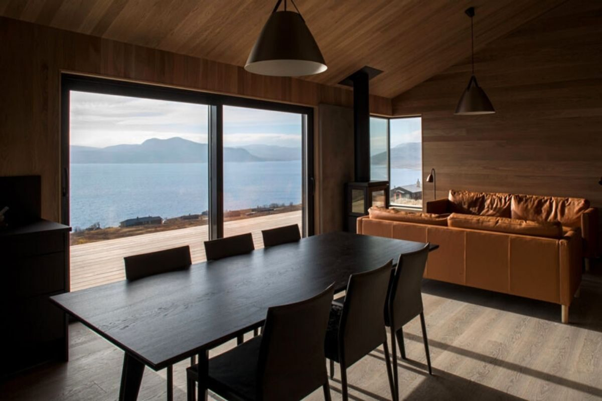 casa de madeira clima extremo foto 6