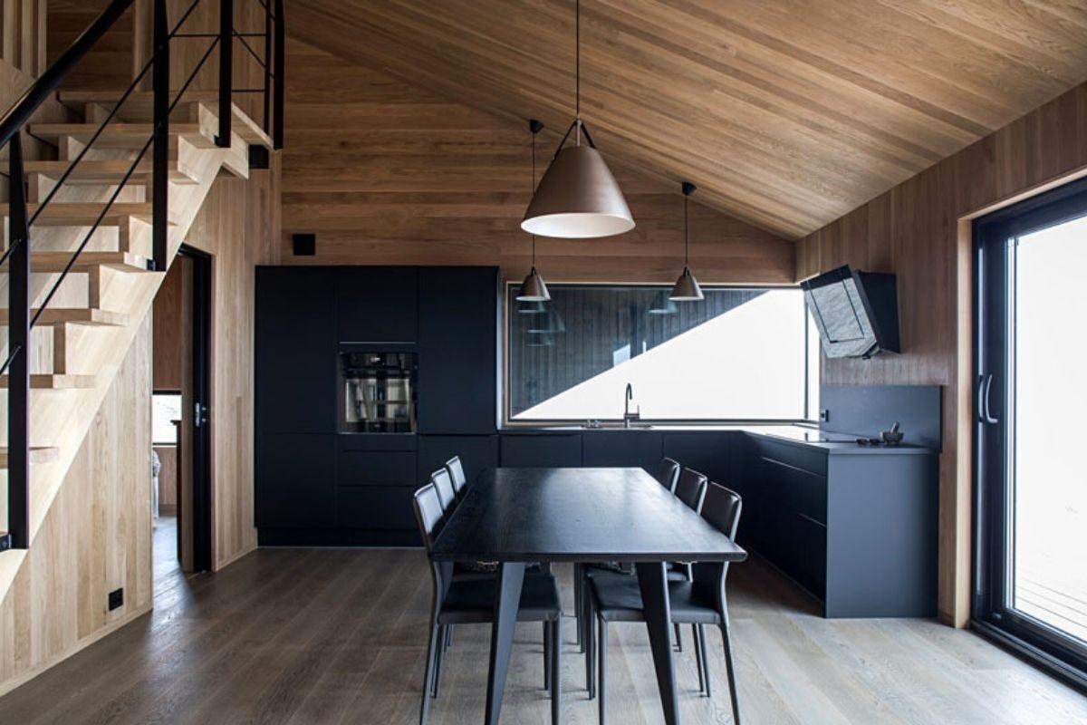 casa de madeira clima extremo foto 7