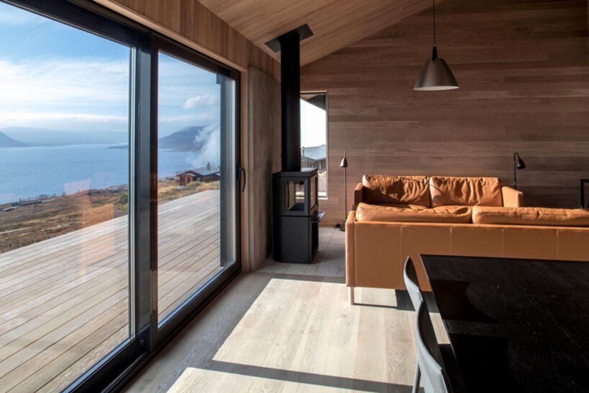 casa de madeira clima extremo foto 8