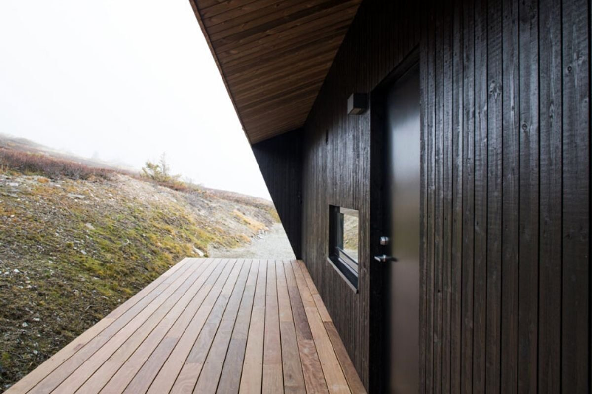 casa de madeira clima extremo foto 9