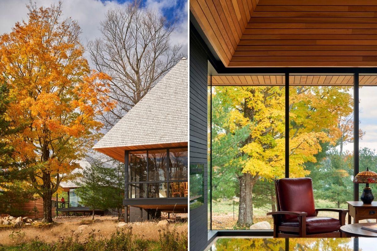 casas de madeira indígenas mls architects foto 15