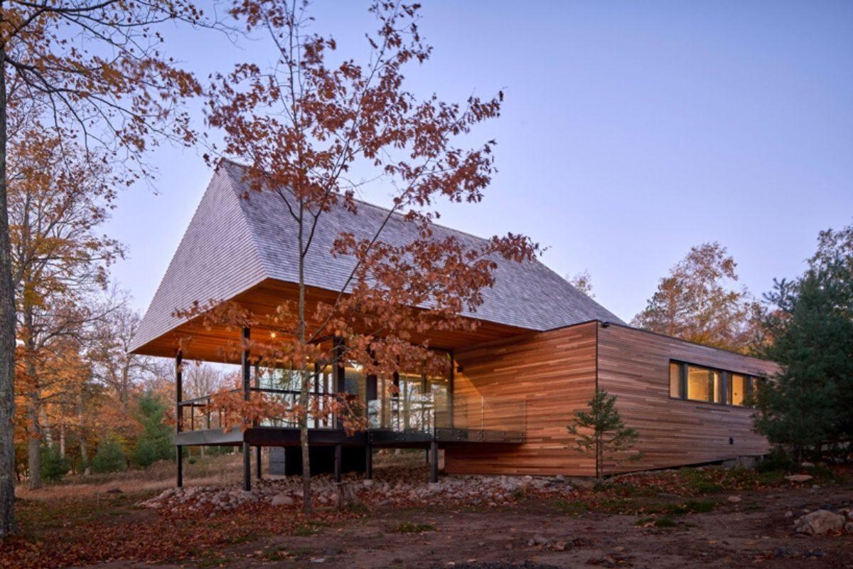 casas de madeira indígenas mls architects foto 3
