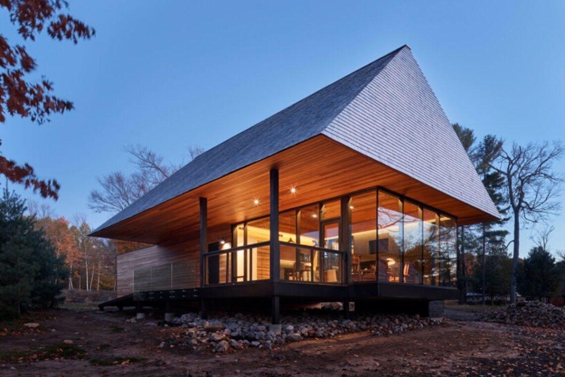 casas de madeira indígenas mls architects foto 4