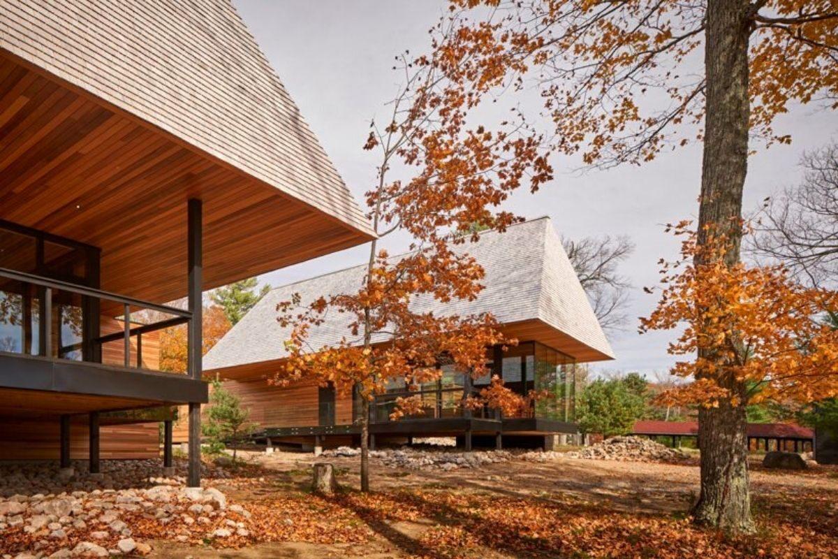 casas de madeira indígenas mls architects foto 8