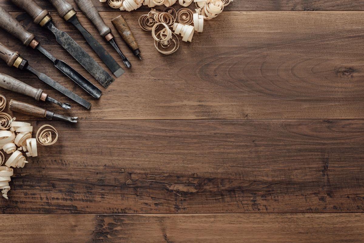 como envernizar madeira nova - passo 1 - preparar o local de trabalho