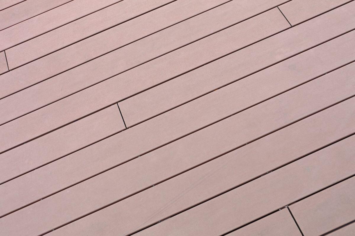deck de madeira plástica (PVC)