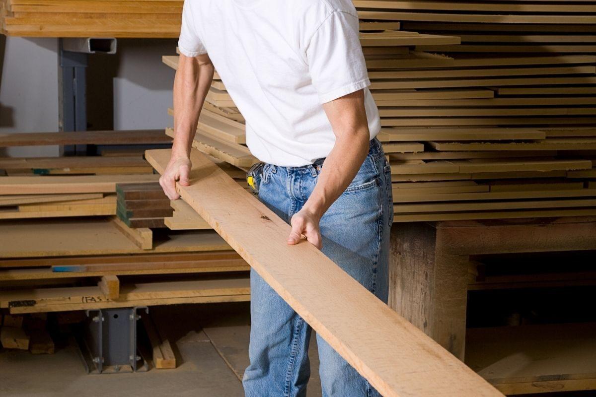 escolhendo as madeiras