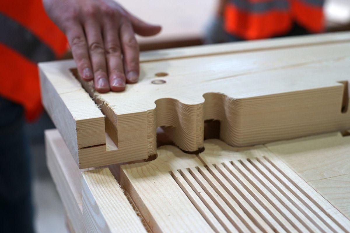 mini casa de madeira sanfonada foto 11