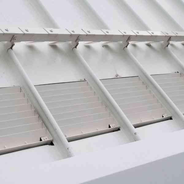 quarta camada do telhado verde sistema de escoamento