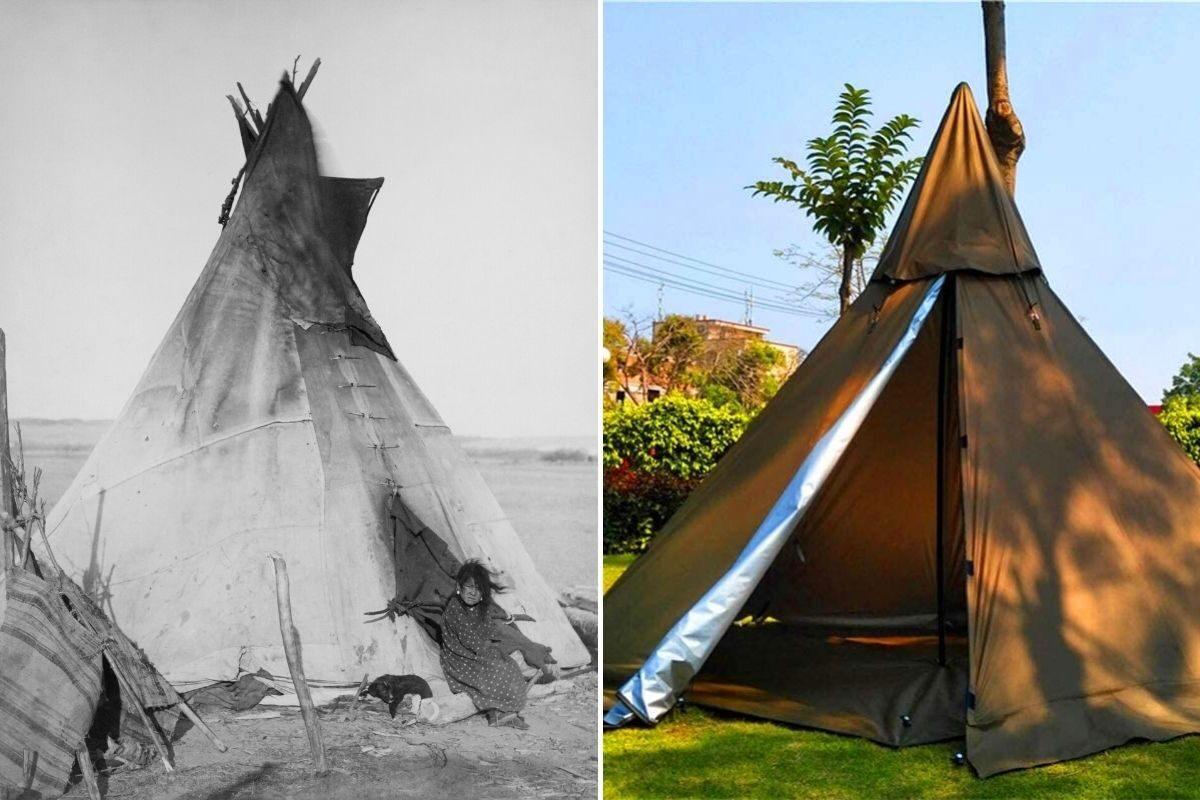 tenda teepee oglala lakota