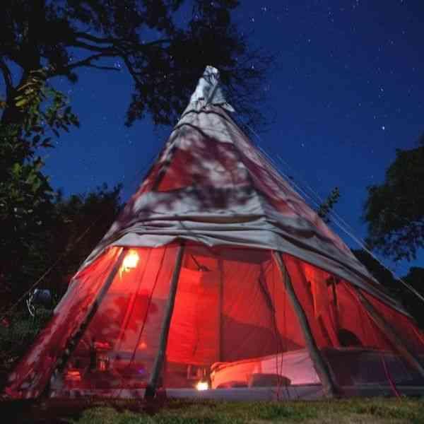 tenda teepee tipi da serra