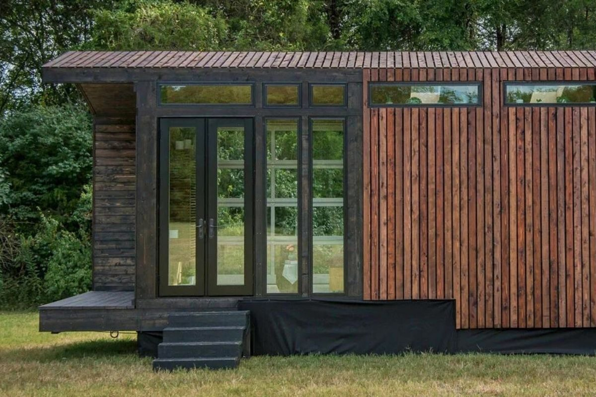 tiny house de madeira inspirada casas de campo foto 2
