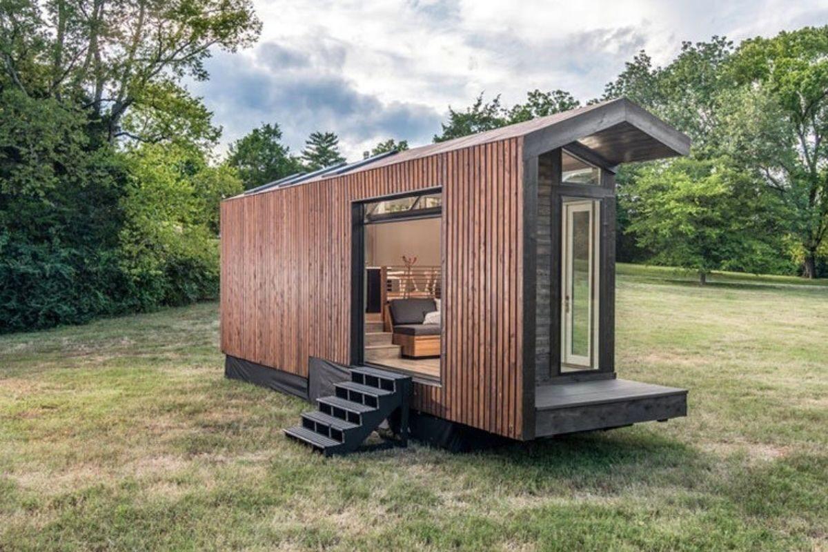 tiny house de madeira inspirada casas de campo foto 9