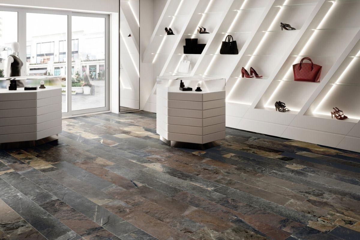 tipo de piso de ardósia