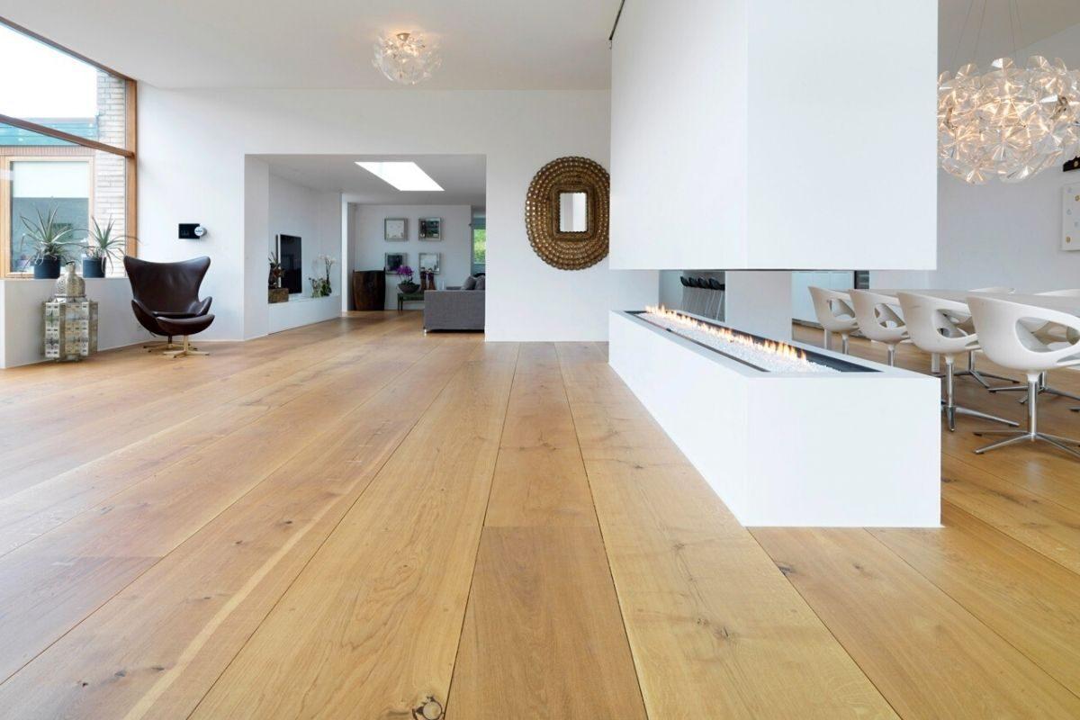 tipo de piso de assoalho de madeira