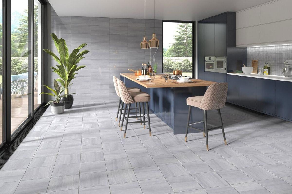 tipo de piso de cerâmica