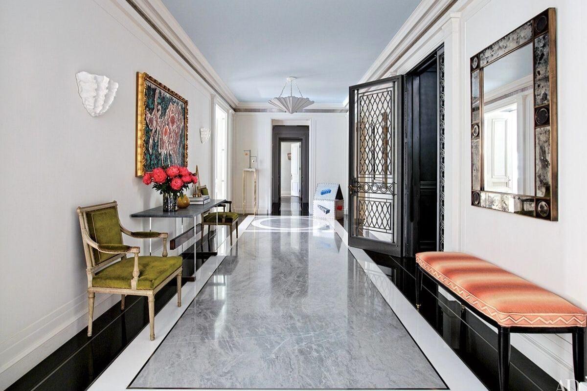 tipo de piso de mármore