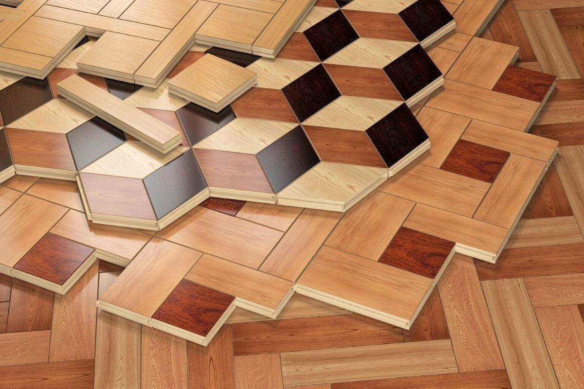 tipo de piso de parquet