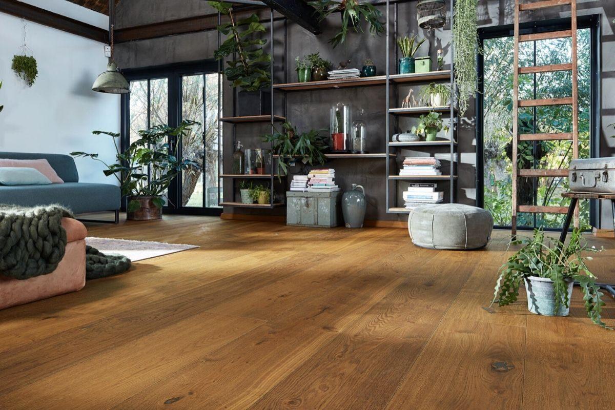 tipo de piso laminado de madeira