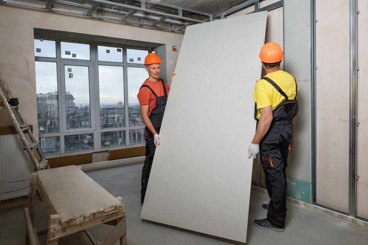 3. Instale as chapas de gesso_drywall