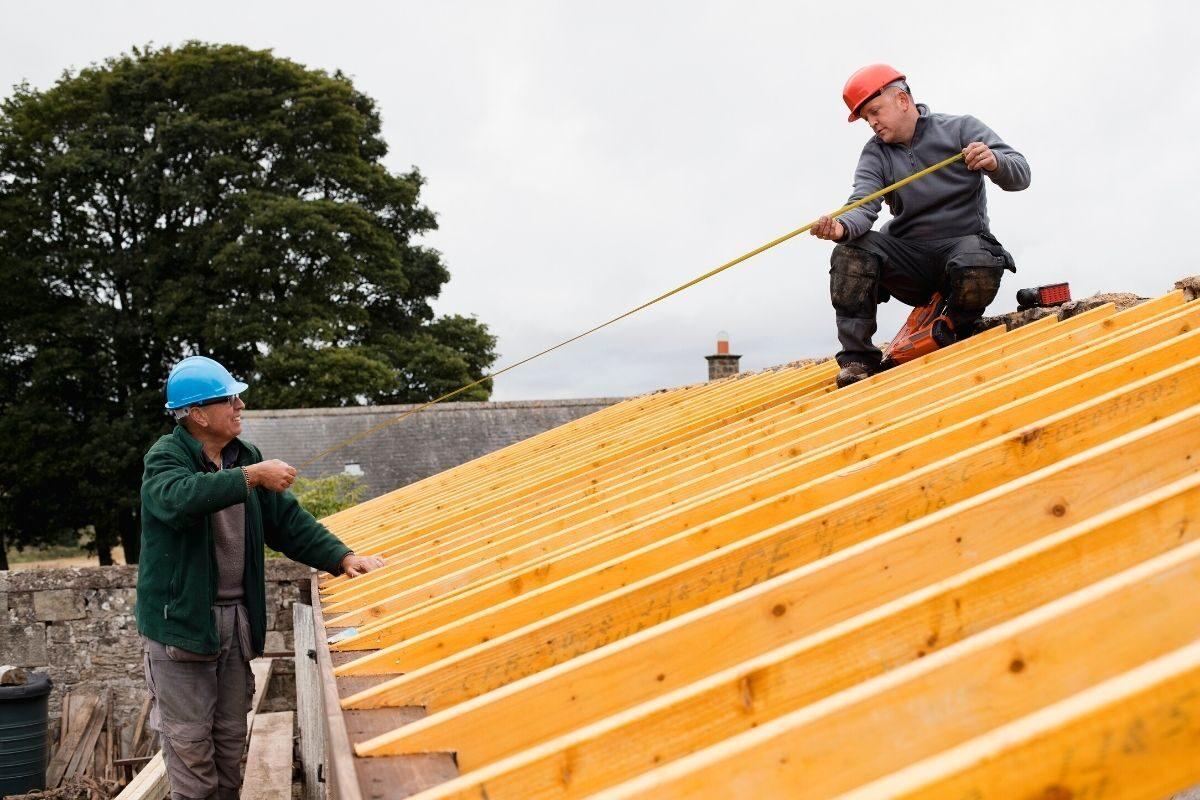 3º passo_ calcule inclinação do telhado