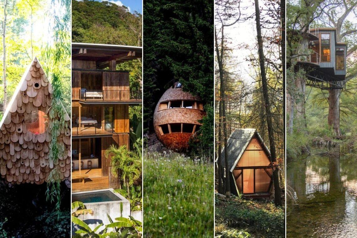 5 cabanas remotas com design fora do comum