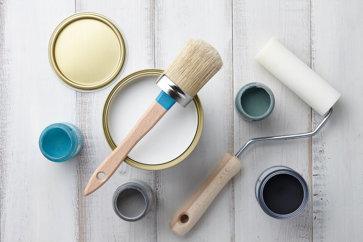 6. Aguarde a tinta secar