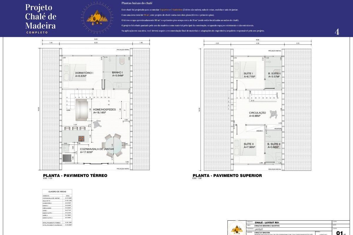 BÔNUS_ Chalé de Madeira com 86 m² - DE GRAÇA! (4)