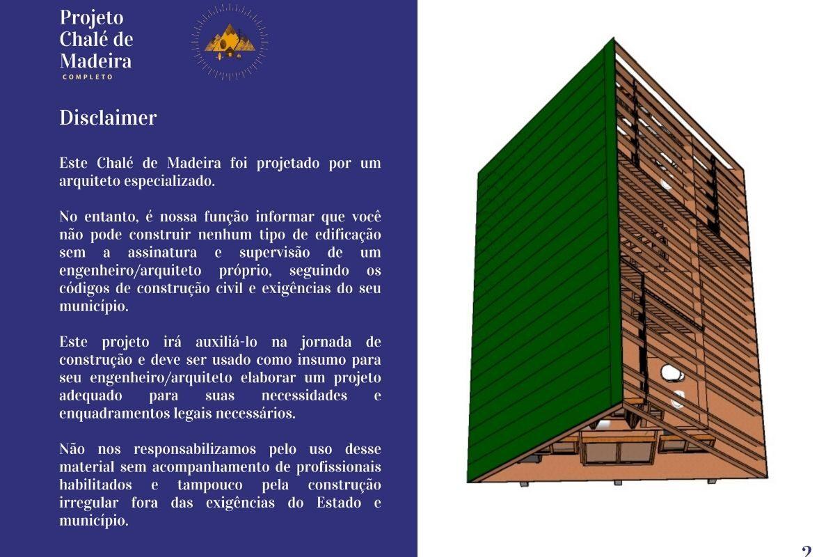 BÔNUS_ Chalé de Madeira com 86 m² - DE GRAÇA! (5)