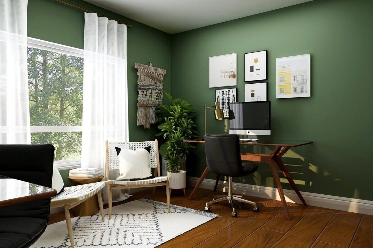 Carpetes de madeira com tons escuros