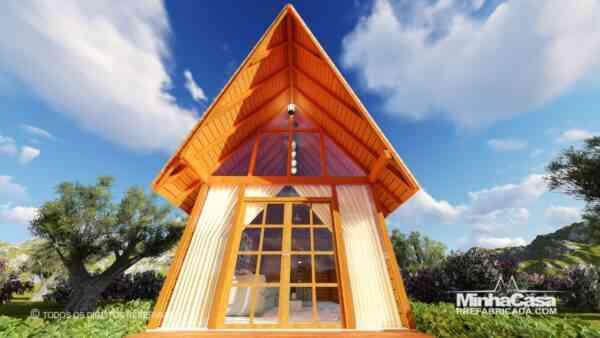 Casa de madeira Modelo rio das ostras 99,90M² 4