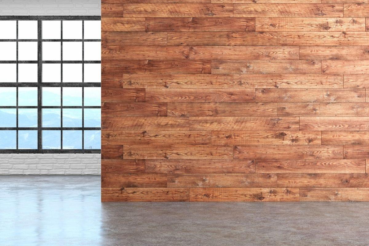 Em quais cômodos é possível revestir a parede com madeira_