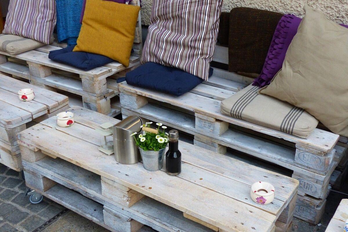 Mesas de madeira rústica criativas 4