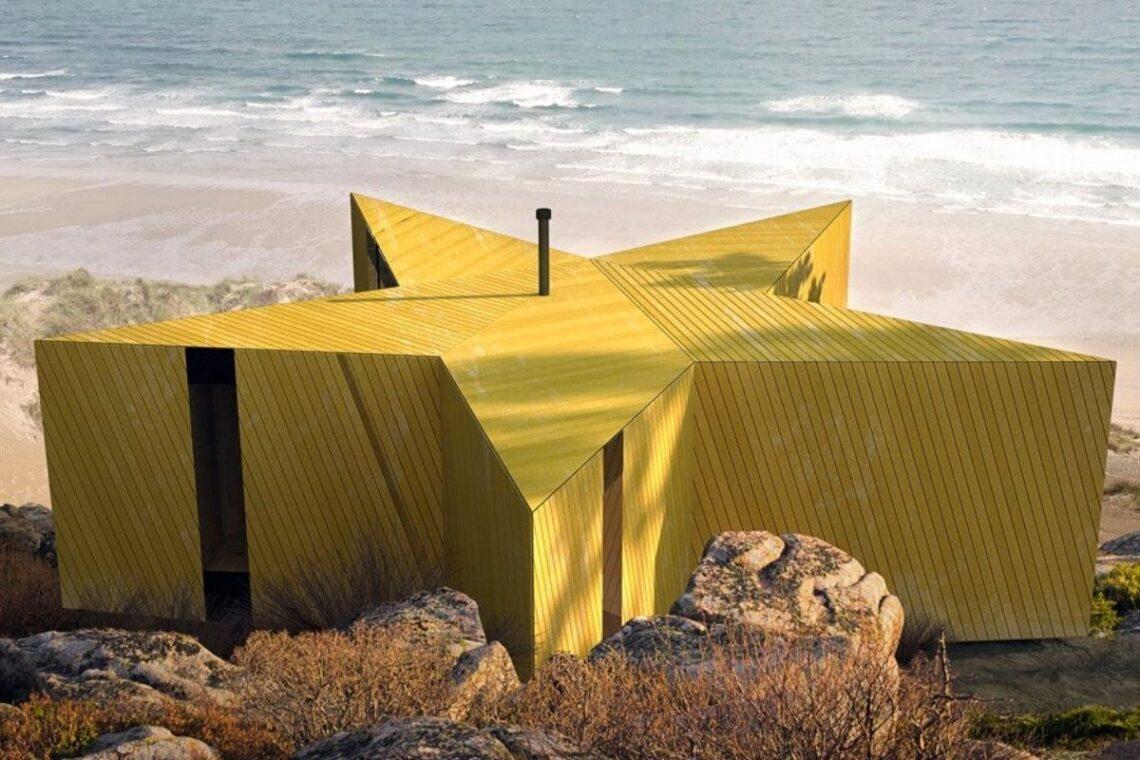 cabana de madeira estrela do mar foto 1