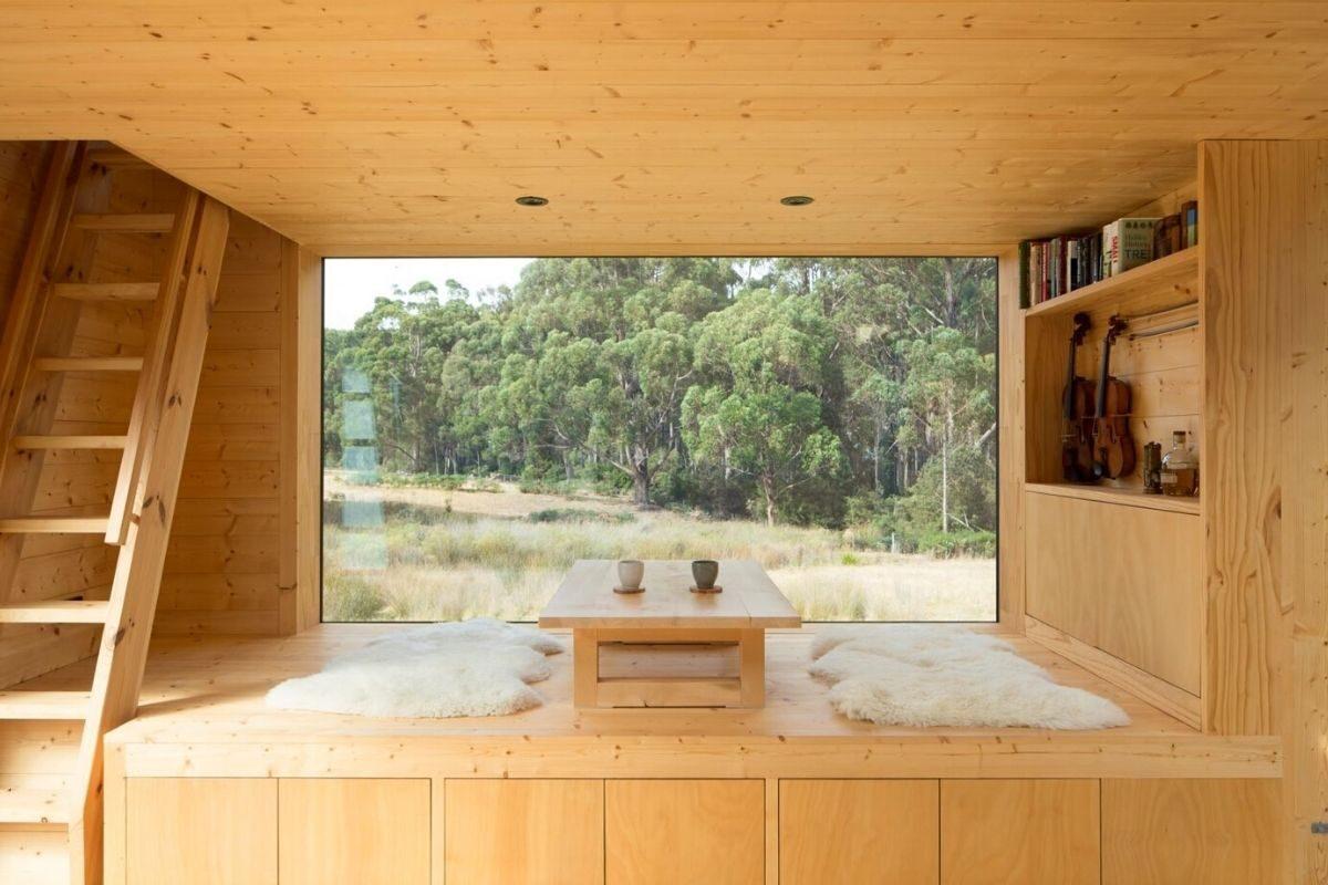 cabana minimalista foto 7