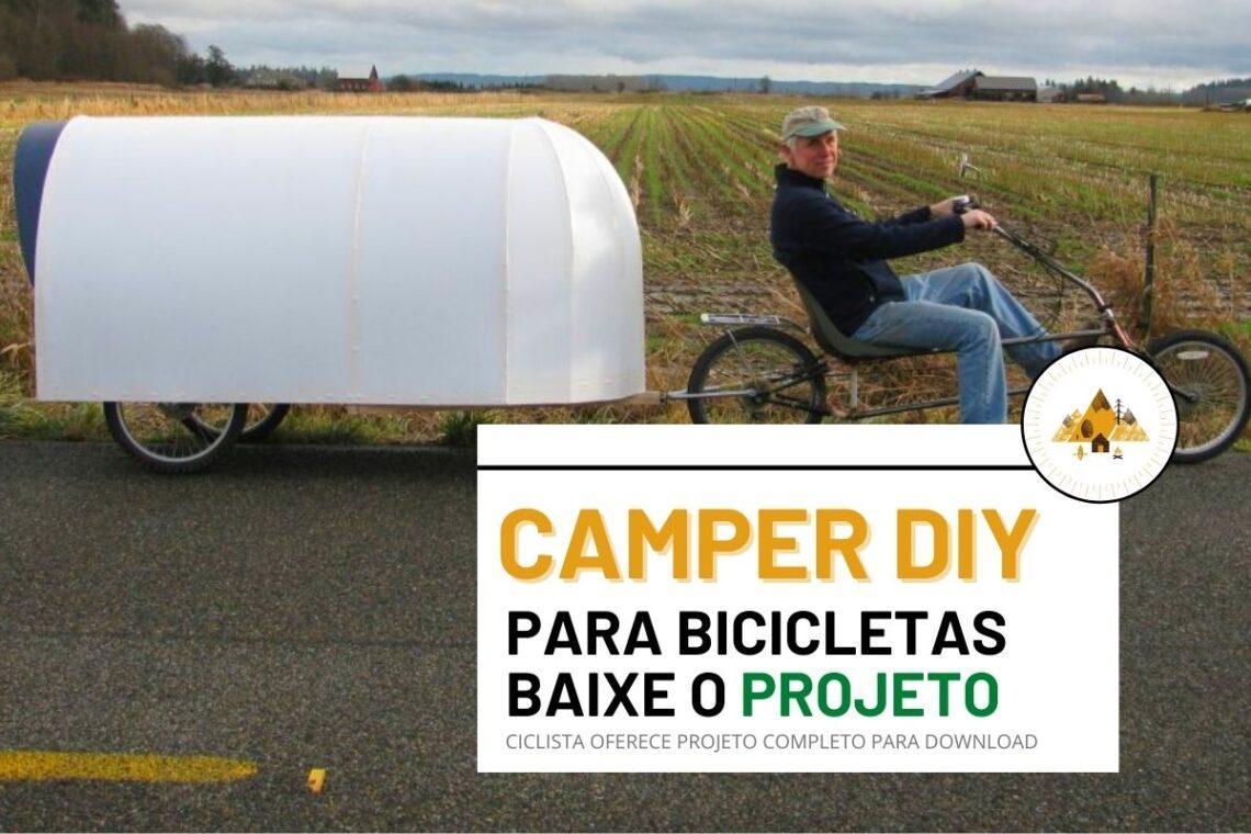 camper diy bicicleta