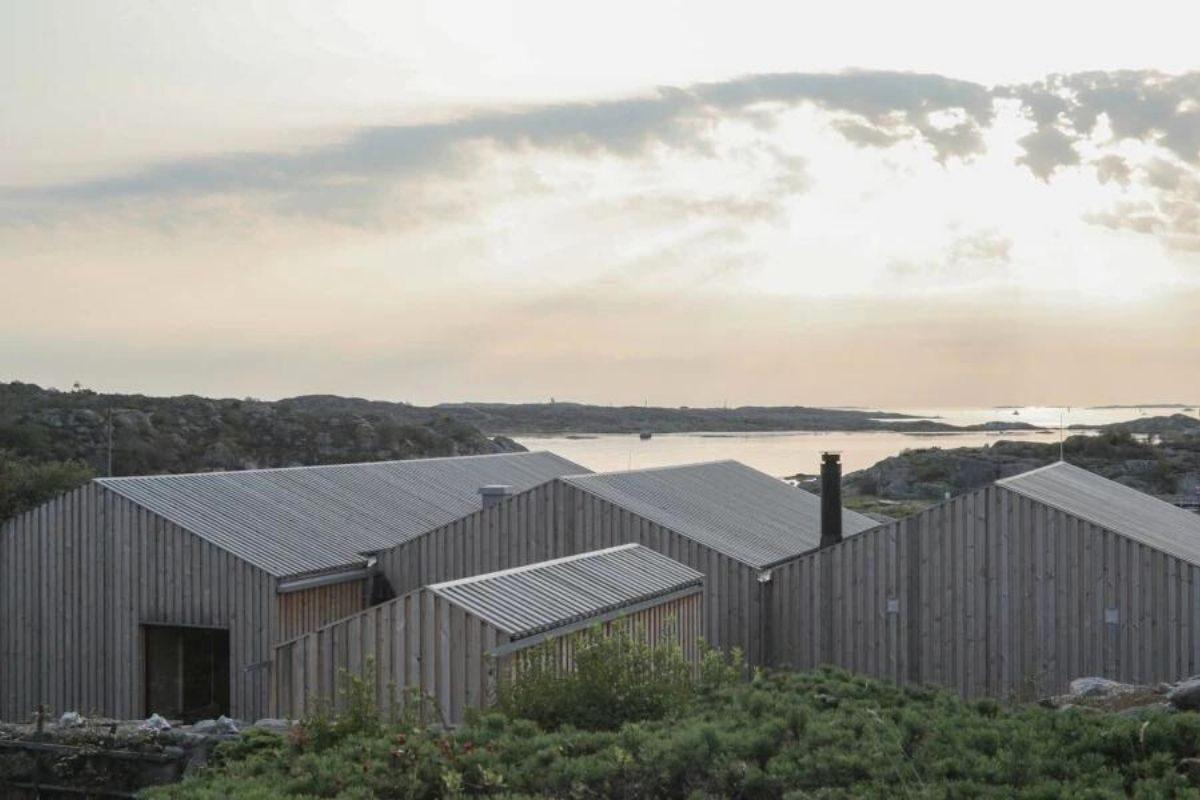 casa de madeira design escandinavo foto 2