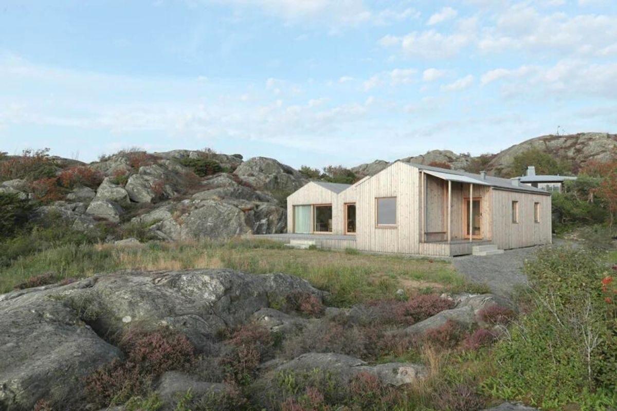 casa de madeira design escandinavo foto 3