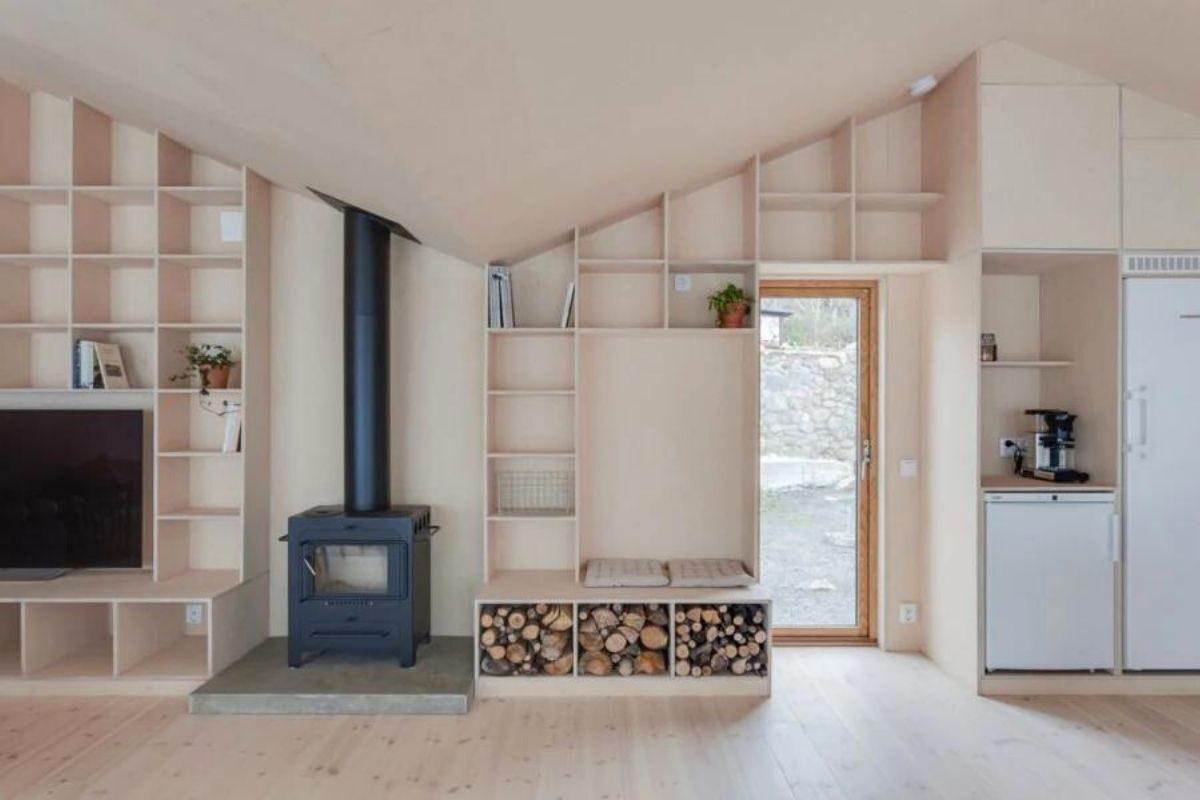 casa de madeira design escandinavo foto 5