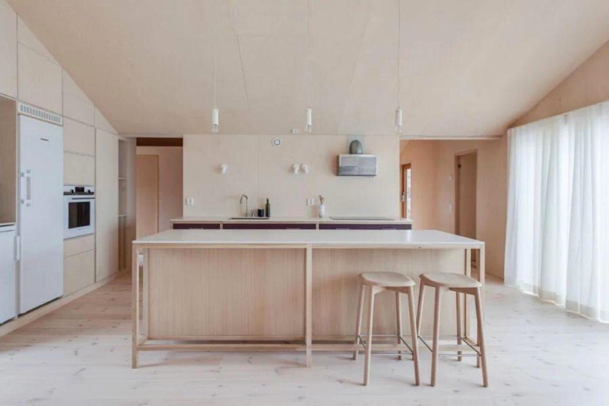 casa de madeira design escandinavo foto 6