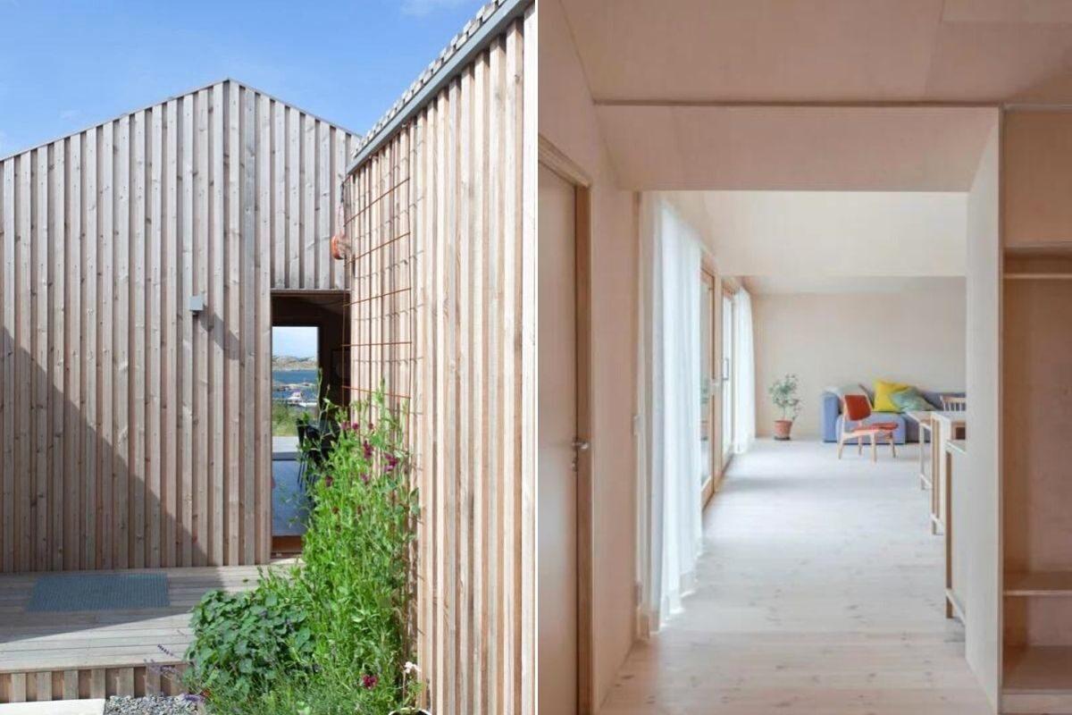 casa de madeira design escandinavo foto 7