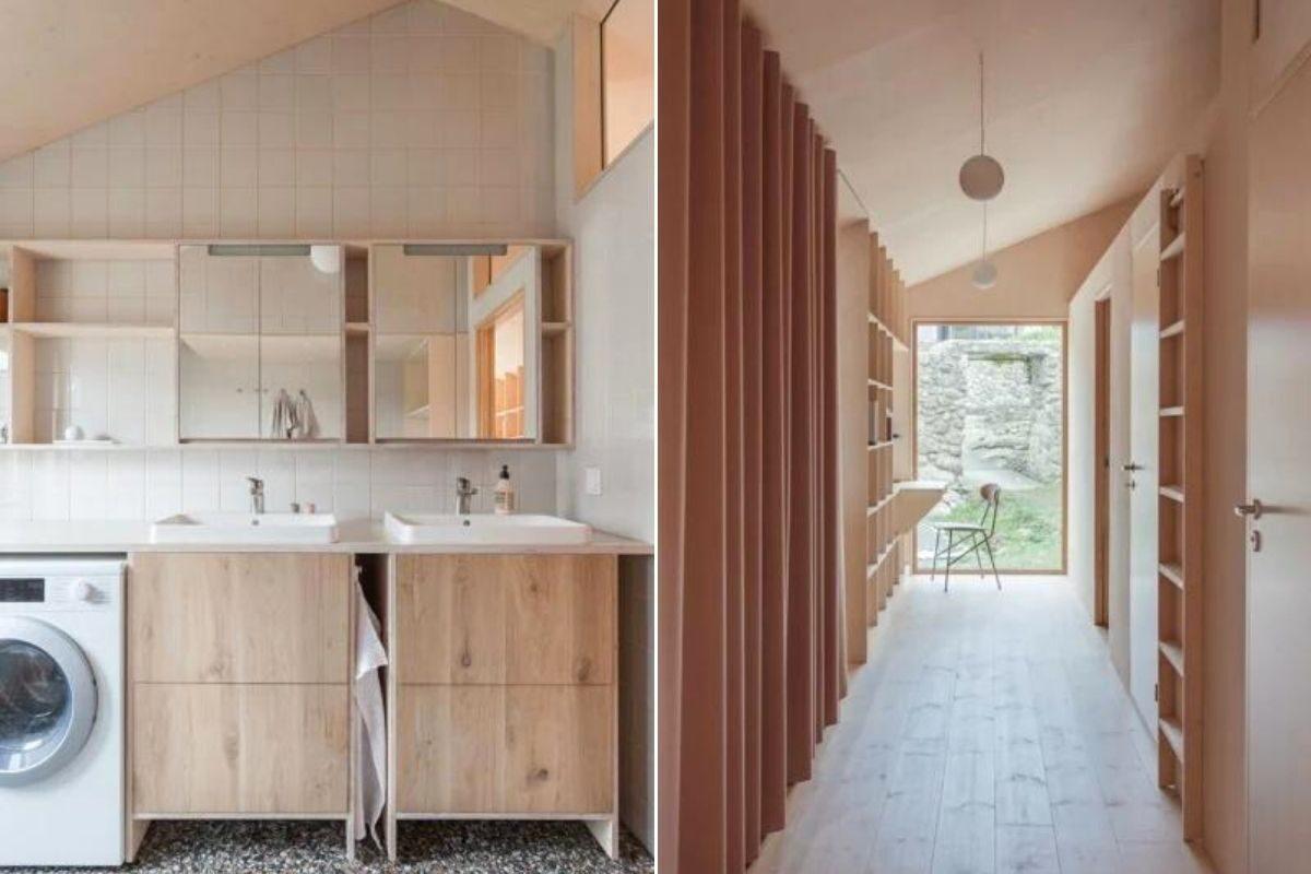 casa de madeira design escandinavo foto 8