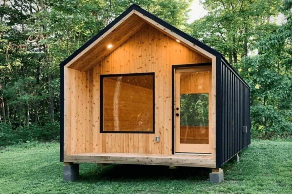 casa de madeira modular foto 1
