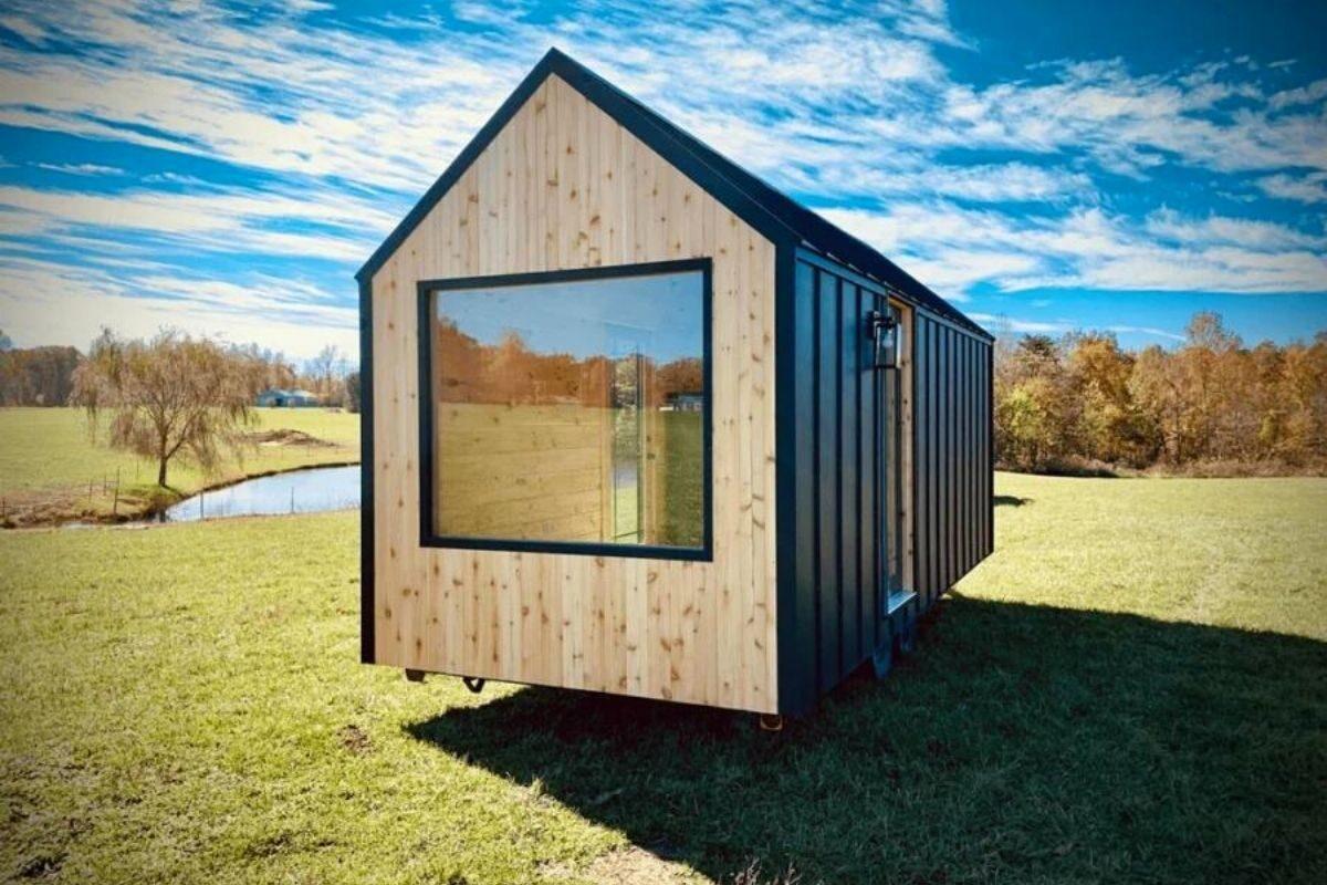 casa de madeira modular foto 5