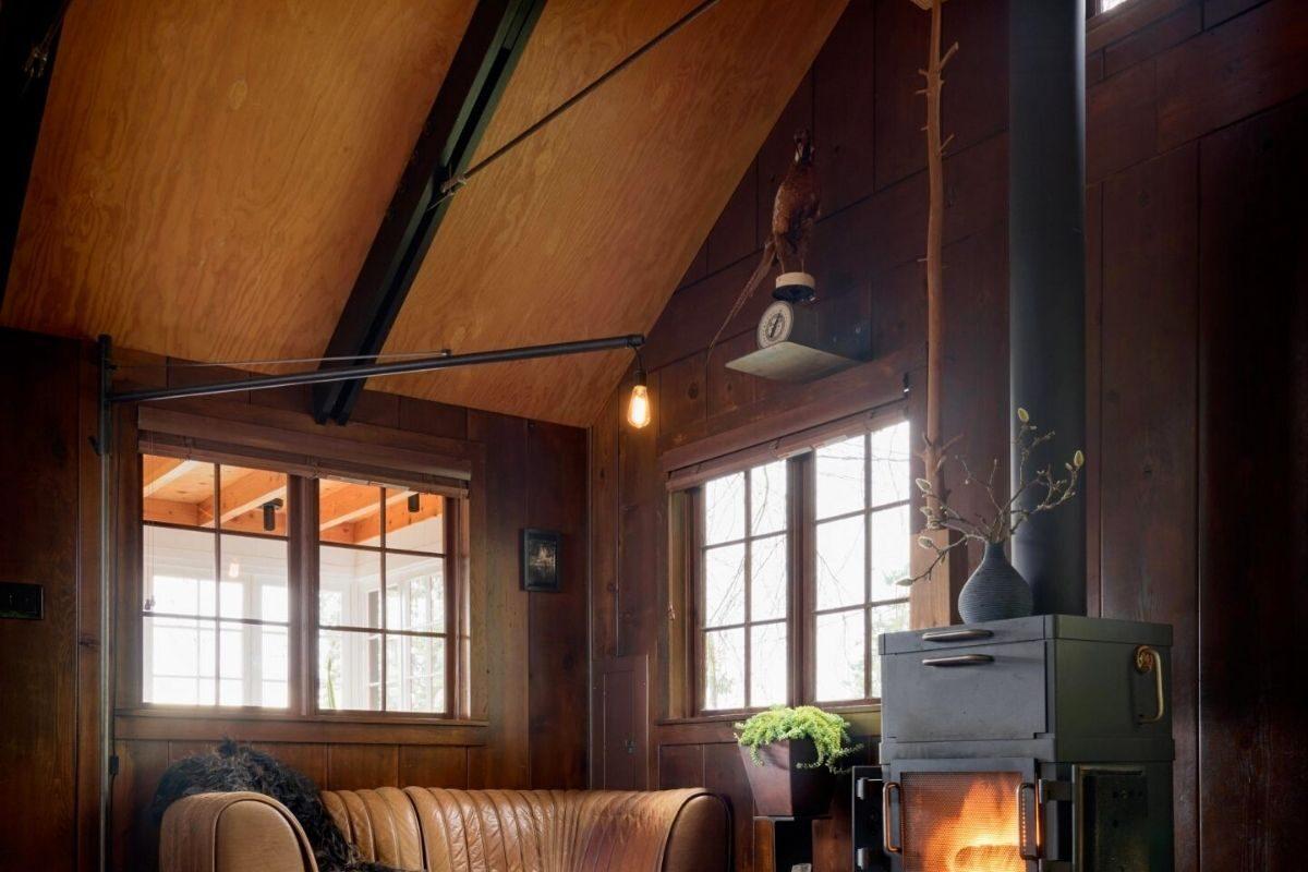 casa de praia de madeira foto 1