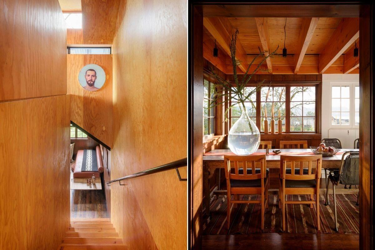 casa de praia de madeira foto 10