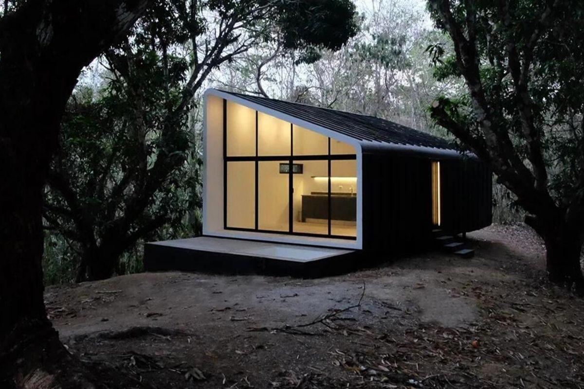 casa modular sustentável foto 1