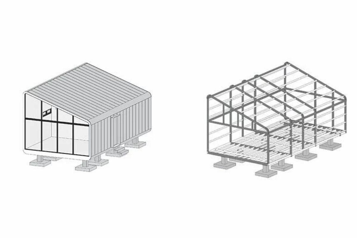 casa modular sustentável foto 12