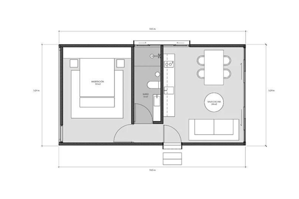 casa modular sustentável foto 13